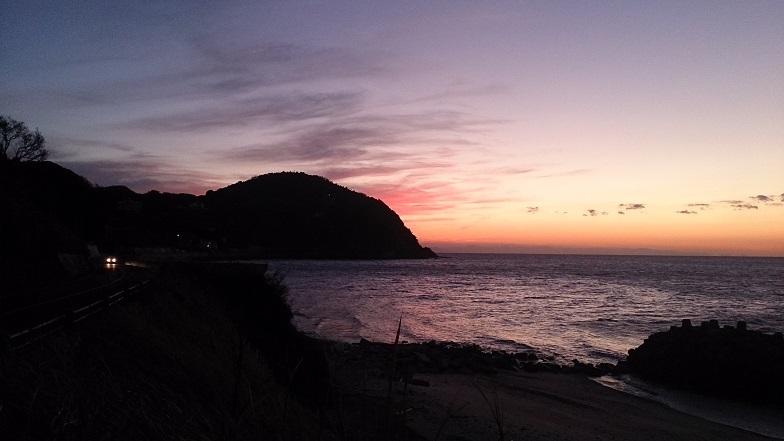 淡路島。夕日を追いかけて2