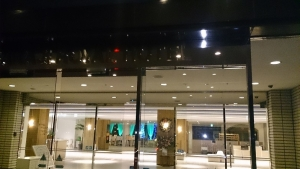 南淡路ロイヤルホテル、玄関口。