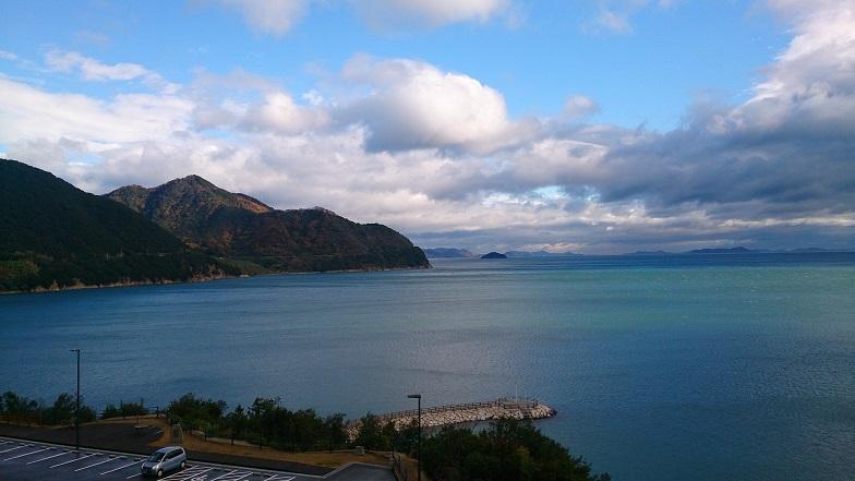弓削島の風景