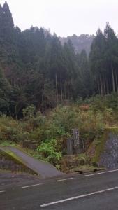 三徳山投入堂への登山口