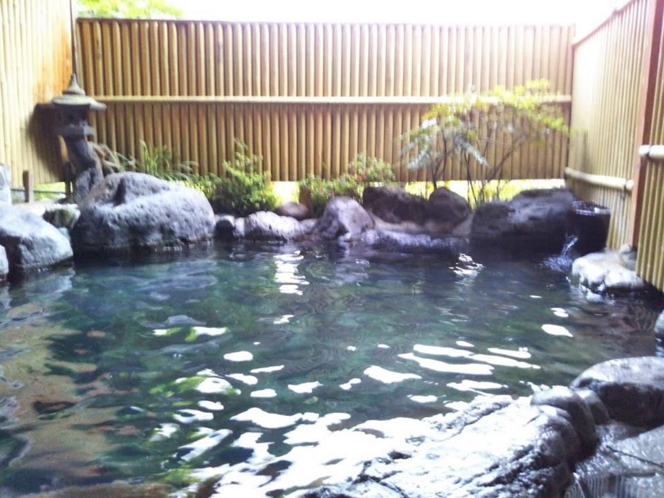 民宿たから温泉、大浴場、露天風呂2