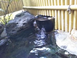 民宿たから温泉、大浴場、露天風呂4