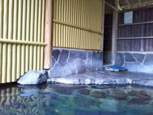 民宿たから温泉、大浴場、露天風呂5