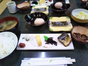 民宿たから温泉、朝食メニュー.jpg