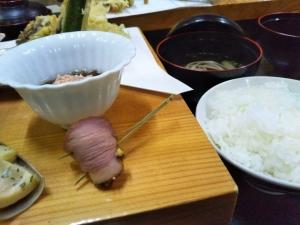 民宿たから温泉、夕食料理2.jpg