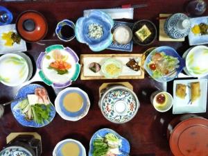 くきた別館 夕食料理2