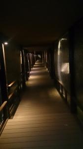 松乃井 庭園内廊下