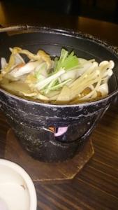 松乃井 夕食 セット料理 鍋物