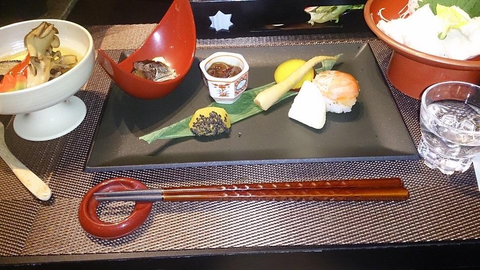 くつろぎ宿新滝 夕食料理1