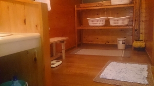 旅館いづみ荘 貸切温泉風呂 脱衣所