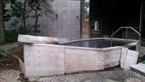 水軍の宿 大浴場 露天風呂1