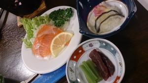 ホテル羅賀荘 夕食料理2