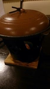 ホテル羅賀荘 夕食料理 陶板焼き