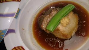 山水閣 夕食料理4