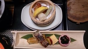旅館喜仙 夕食料理2
