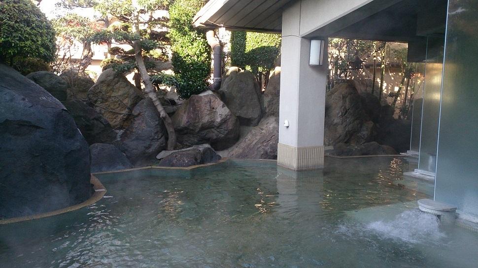 旅館喜仙 露天風呂