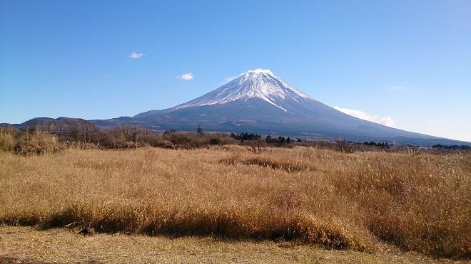 富士さんの景観