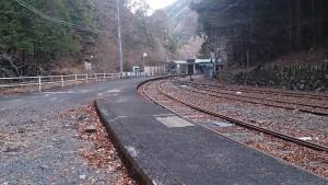 大井川鐡道井川駅
