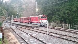 大井川鐡道接岨峡駅