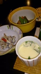 翠紅苑 夕食料理1