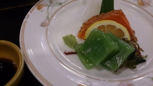 翠紅苑 夕食料理4