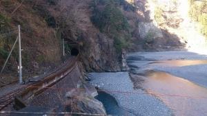 大井川鐡道 千頭駅から上流方面