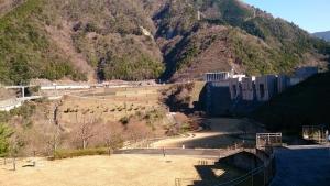 大井川鐡道 長島ダム付近