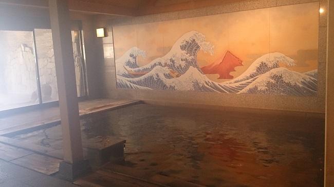 大浴場、内湯、源泉和風呂
