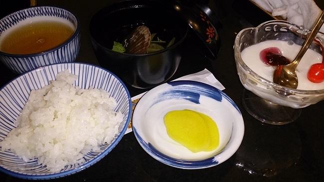 椿館 夕食2