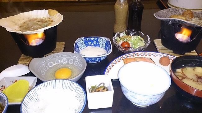 椿館 朝食