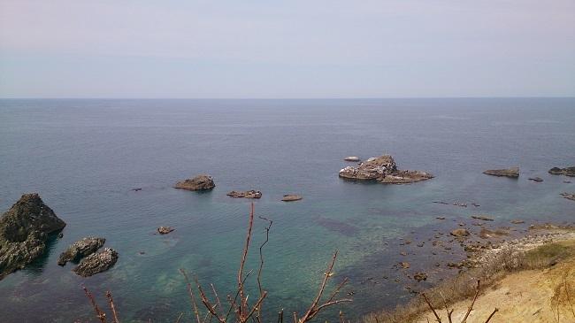 島武意海岸 景観2