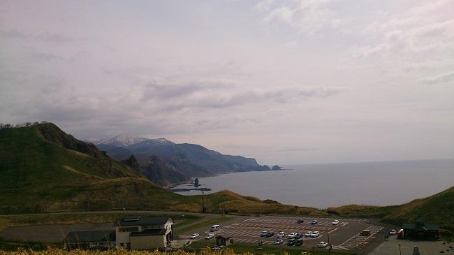 神威岬 駐車場