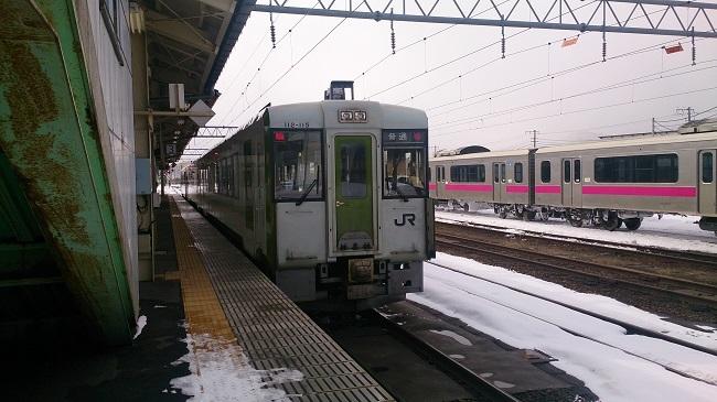 花輪線普通列車