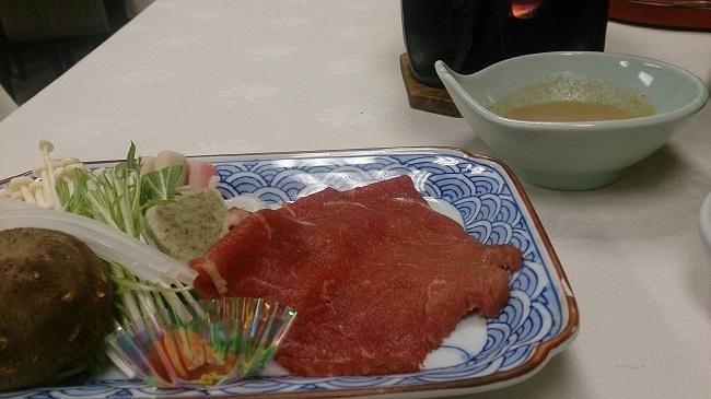 菊水館 夕食料理2