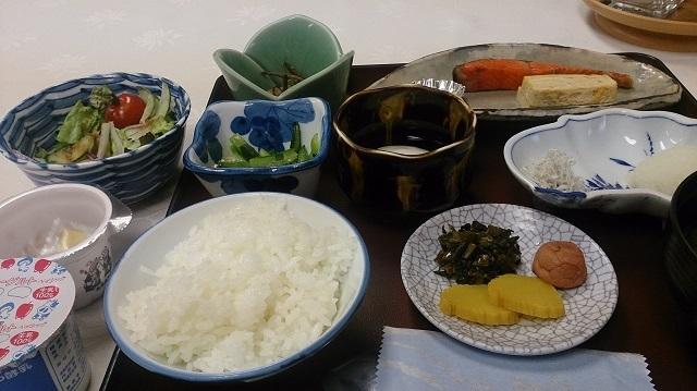 菊水館 朝食
