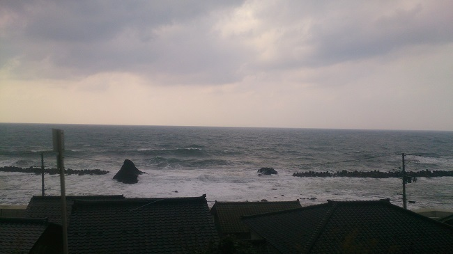 羽越本線 日本海