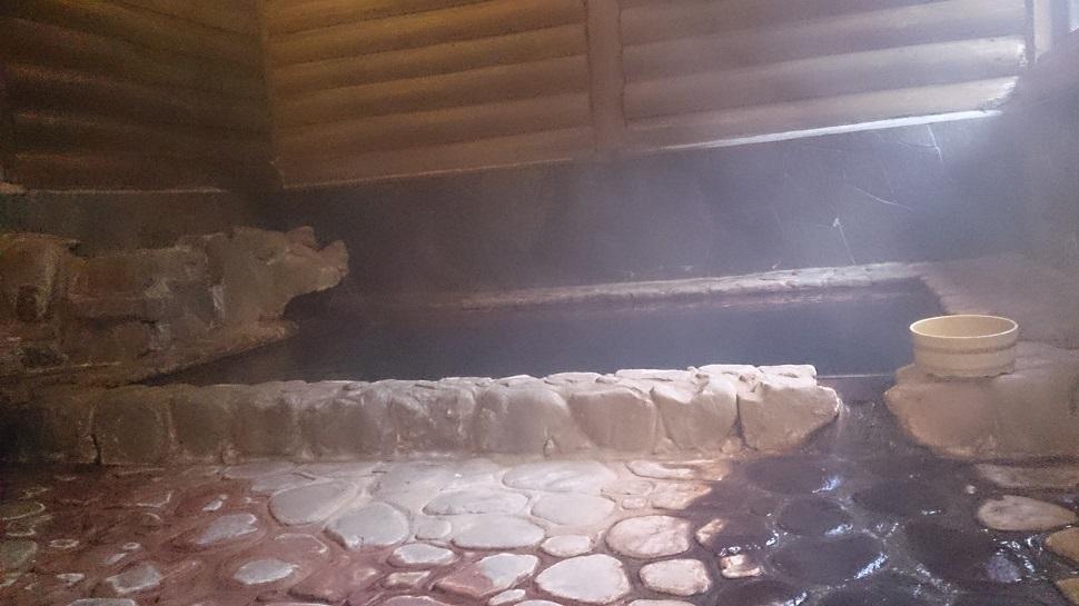 静響の宿 山水 大浴場 内湯