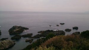 潮岬 灯台からの眺め