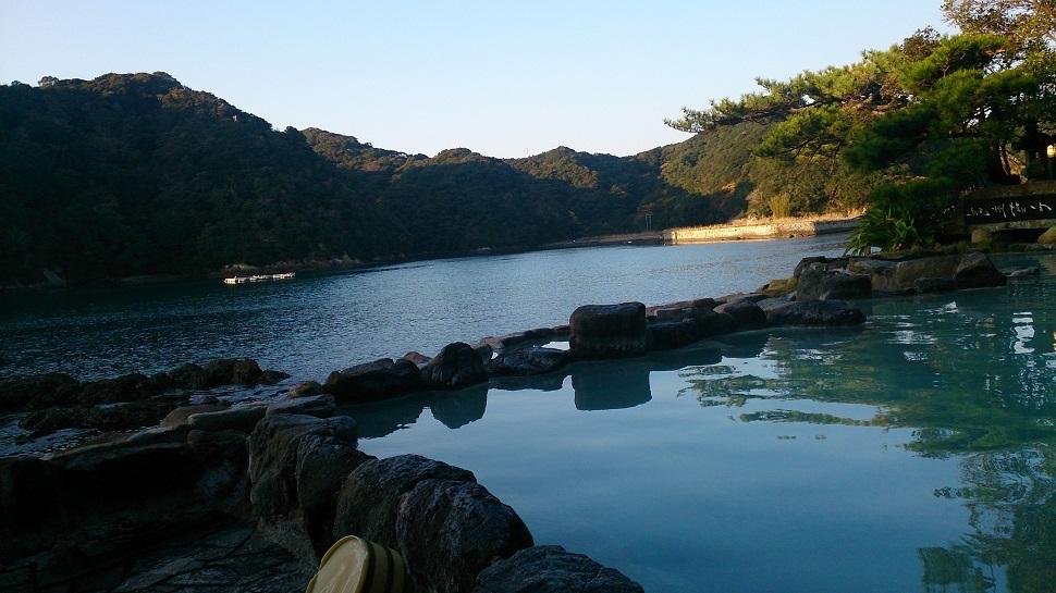 中の島 露天風呂2