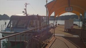 中の島 専用船乗り場