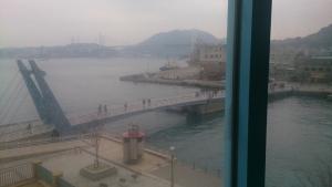 門司港ホテル 部屋からの眺望