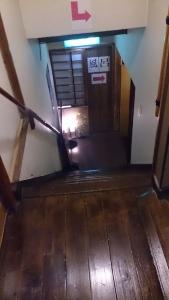 旅館 一休荘 館内 風呂場への階段