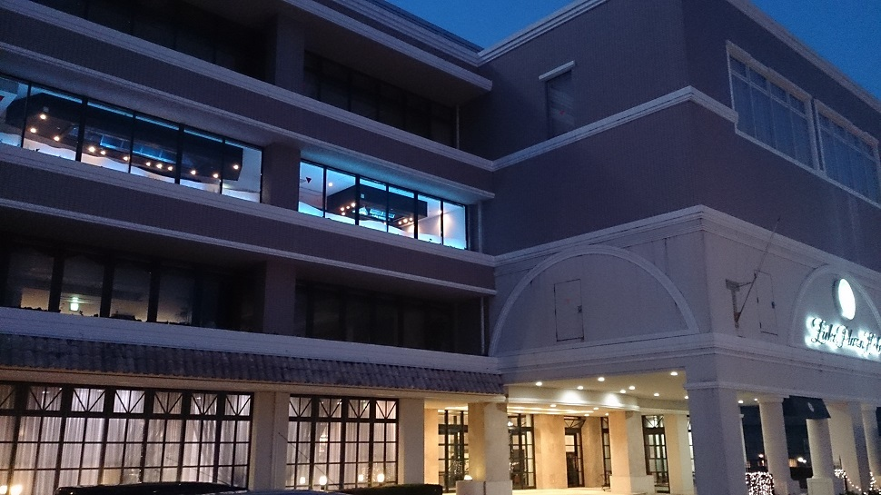 ルークプラザホテル 外観