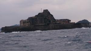 軍艦島外観2