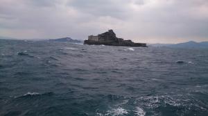 軍艦島外観1