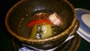藻の花 夕食料理5