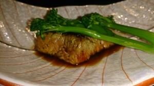 藻の花 夕食料理7