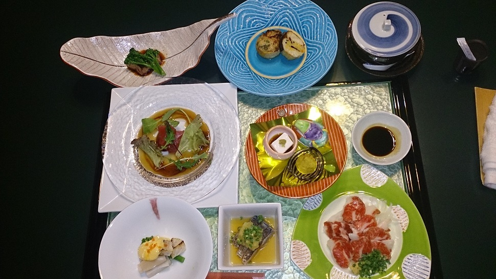 藻の花 夕食料理 全料理