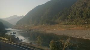 肥薩線。球磨川沿い1