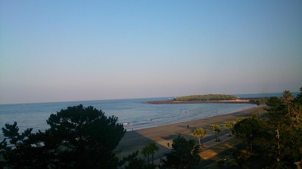 青島グランドホテル 部屋からの眺望
